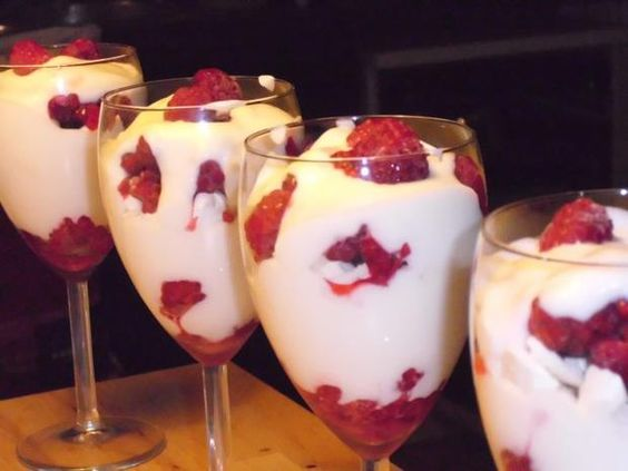 Rezept: Himbeer-Kokos-Trifle