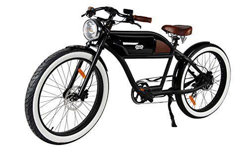 T4b Greaser Retro Style Electric Bike 350w Motor Samsung Battery Vintage Bicycle 36v 13ah Electric Bike Vintage Bikes Bike