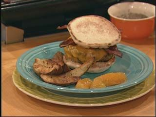 BLD Burgers with Chunky Cranberry Sauce | Burgers Gone Wild ...