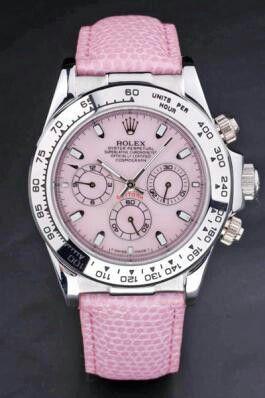 #Rolex watch - #Pink
