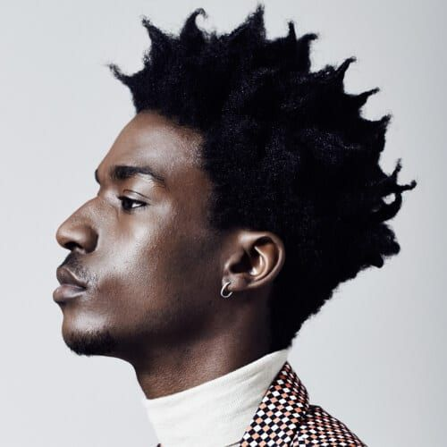 50 Ultra Cool Afro Hairstyles For Men Men Hairstyles World Afro Hairstyles Mens Hairstyles Afro Hairstyles Men