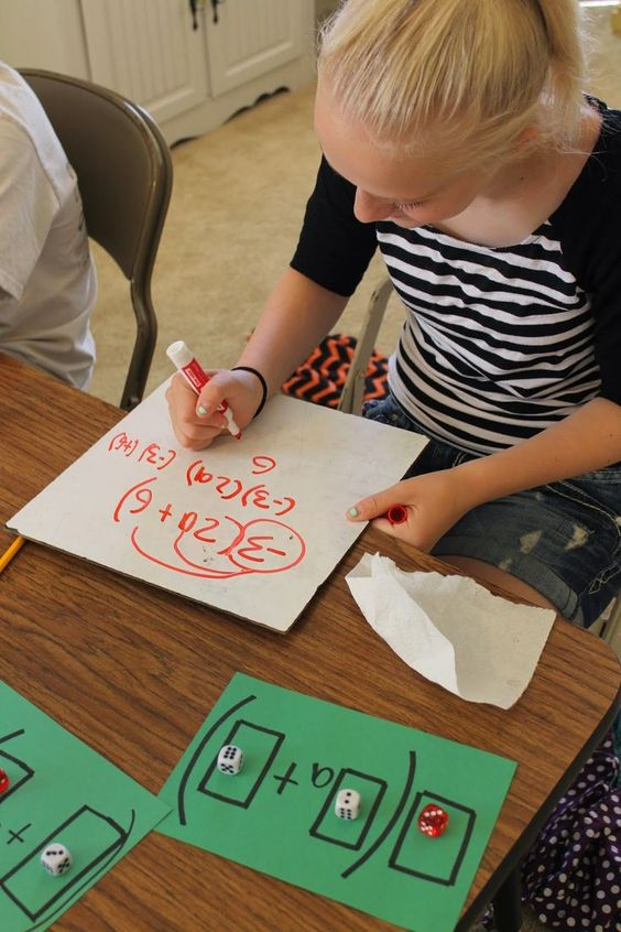 Hands-on lesson for teaching the distributive property.