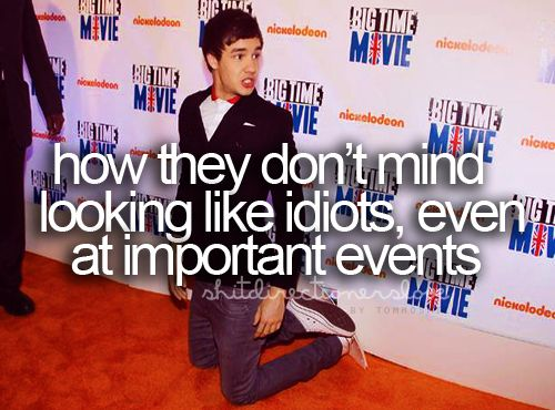 and I love them for that! it makes everyone else look like idiots because they're not having as much fun