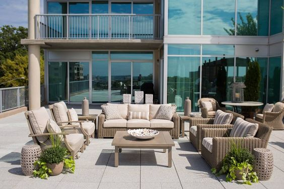 Take A Look At How Summer Classics Transforms This Birmingham, Alabama  Rooftop Terrace. Visit Www.summerclassicsstores.com To Find A Store Or  Dealeu2026