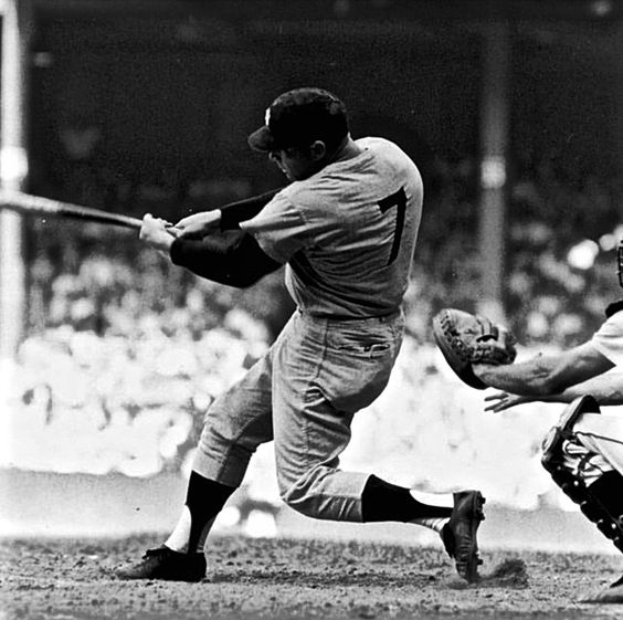 """May 14, 1967 Mickey Mantle """"The Mick"""" Hits Home Run #500. Mickey Mantle Was The Best Switch Hitter In Baseball."""