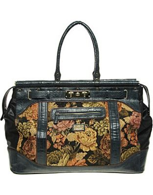ASOS Fashion Finder | River Island Large Tapestry Weekend Bag ...