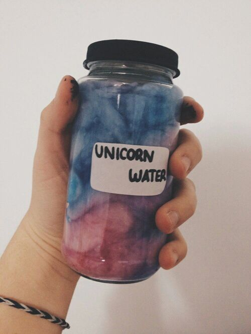Stay hydrated #unicorn #water