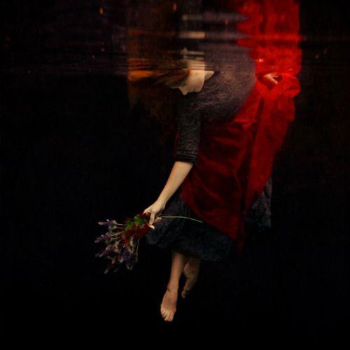 reaching the world below by Brooke Shaden