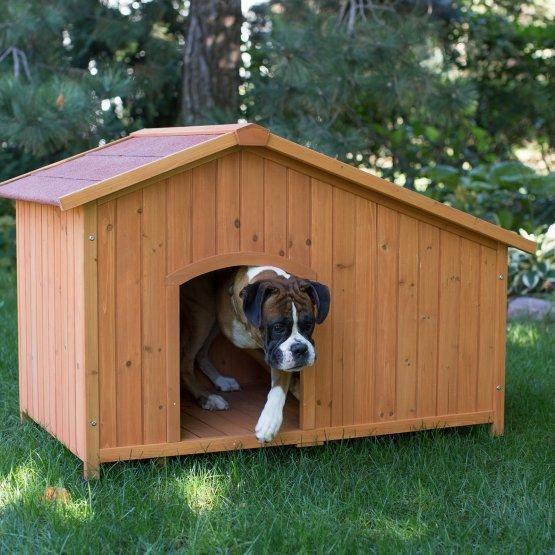 Woodside Large Dog House Large Dog House Big Dog House Wood