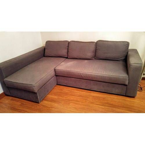 Canape Convertible Bultex Ikea Canape D Angle Convertible Manstad Ikea Achat Et Vente In 2020 Canape Ikea Ikea Sectional Couch