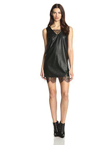 JOA Women's Leather Dress with Lace Hem, Black, X-Small JOA http://www.amazon.com/dp/B00NCX2M6M/ref=cm_sw_r_pi_dp_dmmuvb025W1S1