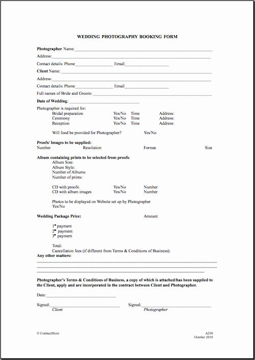 Event Venue Contract Template In 2020 Wedding Photography