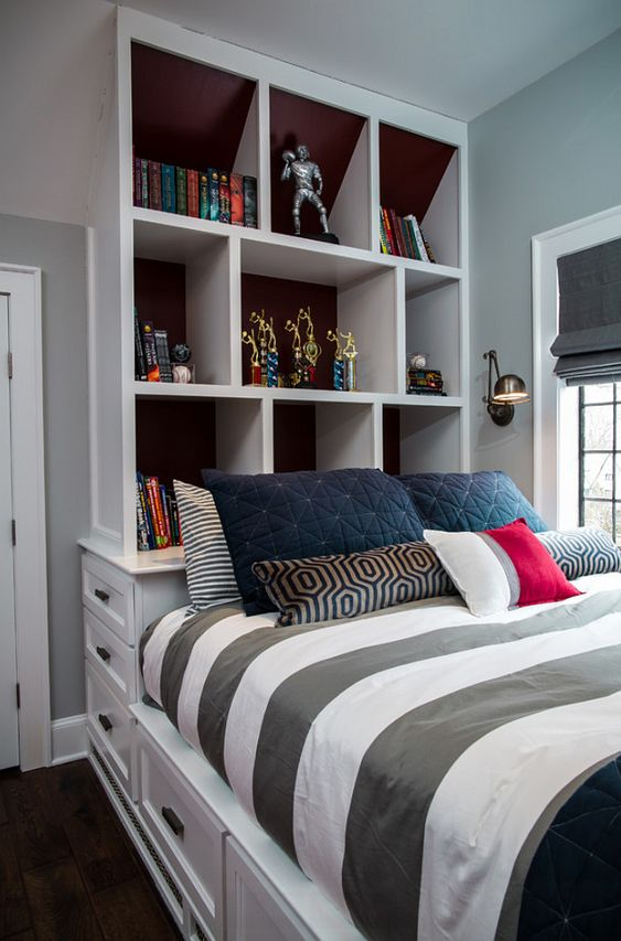 bedroom bookcase bed with bookcase kids bedroom with custom bed