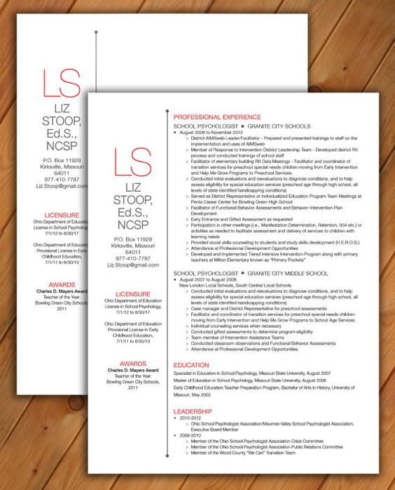 Cv template, Words and Initials on Pinterest - resume formatting word