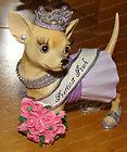 13334 - PAGEANT (Aye CHIHUAHUA) Prettiest Pooch (Retired) - http://cutefigurines.net/aye-chihuahua/13334-pageant-aye-chihuahua-prettiest-pooch-retired/: