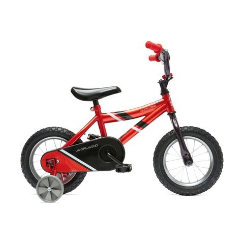 30cm Whirlwind Bike Red Bike Bike Pump Kids Toys