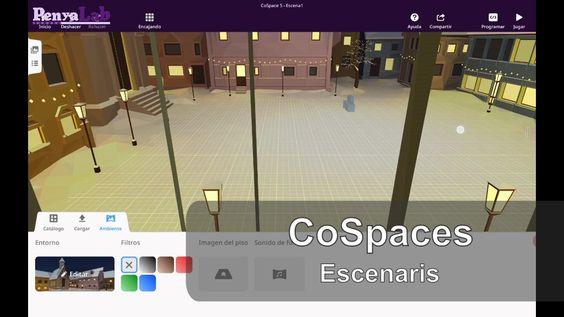 CoSpaces- Escollir un escenari