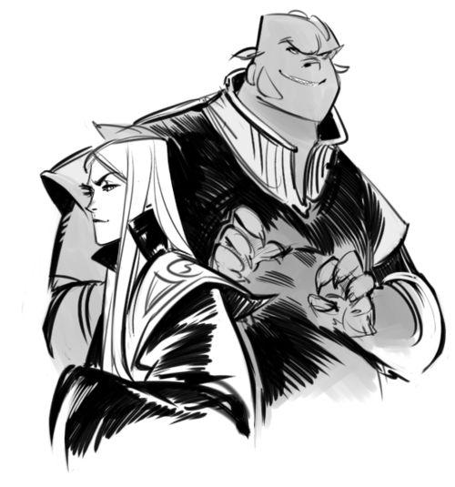 Lord Cedric & Vathek