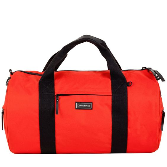 Marlin Utility Holdall Red Consigned at Wolf & Badger