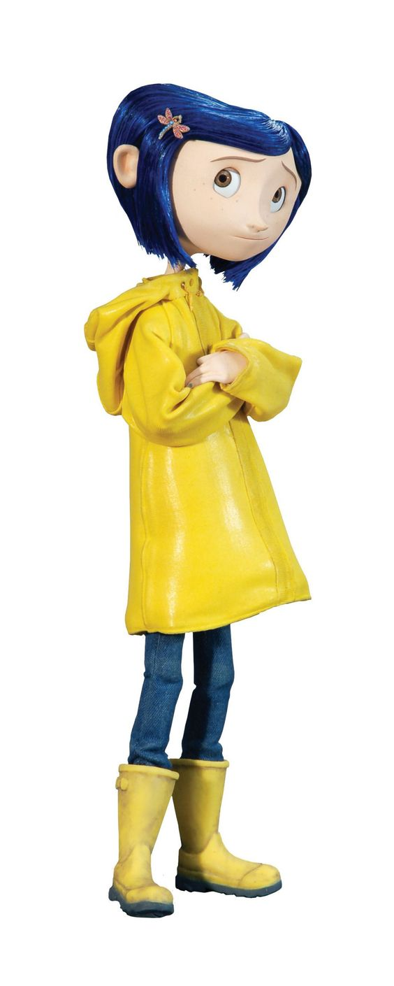Coraline - Emmy is going to be Coraline for Halloween :D: