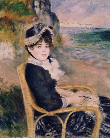 Renoir, By The Seashore, 1883: