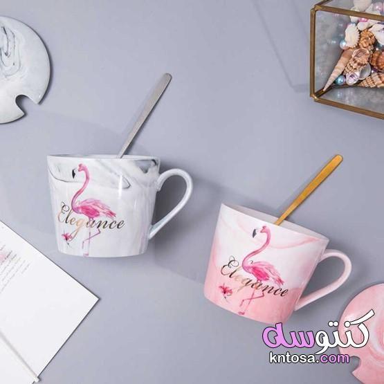 اجمل اشكال المجات مجات ملونه مجات نسكافيه اشكال مجات رومانسية مجات بالصور Glassware Mugs Tableware