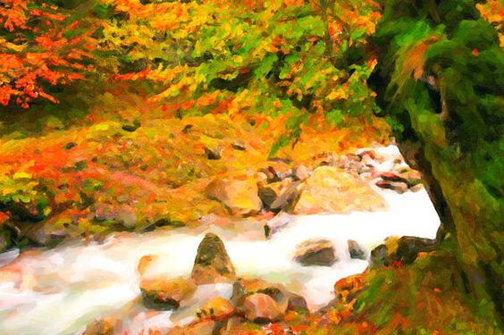 I uploaded new artwork to fineartamerica.com! - 'Autumn Landscape Of The River And The Trees ' - http://fineartamerica.com/featured/autumn-landscape-of-the-river-and-the-trees-lanjee-chee.html via @fineartamerica
