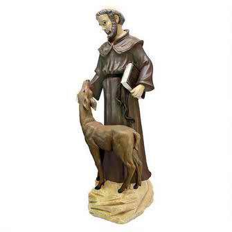 St. Francis Peaceful Presence Statue: Medium