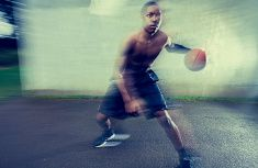 Young basketball player, motion blur - iStock