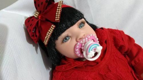 Bebe Reborn Bruna Chora E Balbucia Linda R 1 599 99 Em Mercado Livre Roupas De Bebe Menina Bebe Reborn Roupas De Bebe
