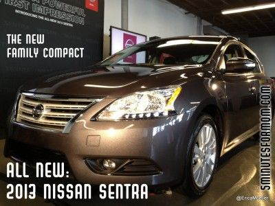 My 2013 Nissan Sentra Review on @5minutesformom