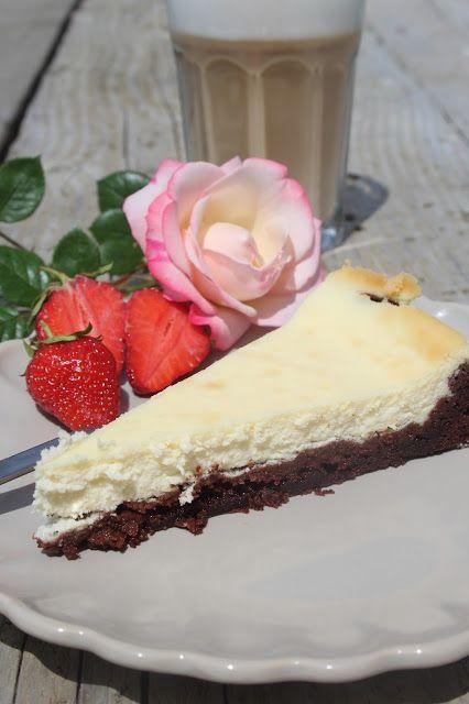 Paulas Frauchen: Cheesecake‑Brownie