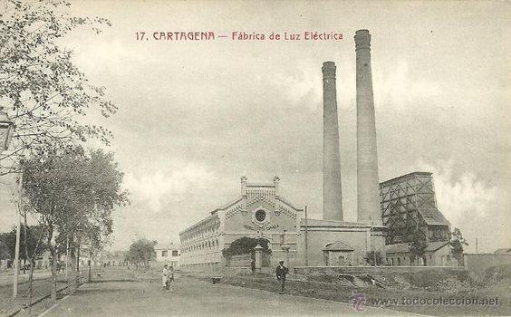 Resultado de imagen de FABRICA DE LA LUZ EN CARTAGENA
