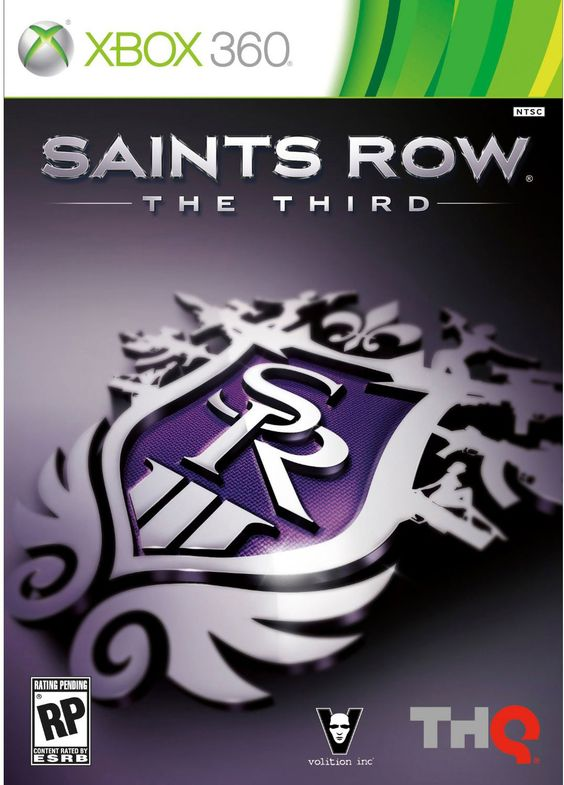 Xbox 360 - Saints Row: The Third - By THQ, Red