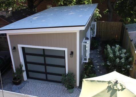 Urban Garage Garage Kits 12x24 With Canexel Khaki Slidings In Scarborough Ontario Id Number 167579 3 Garage Door Design Modern Garage Garage Design