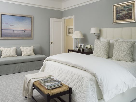 Calming Bedroom....lamps And Swing Arm Sconces....mrs