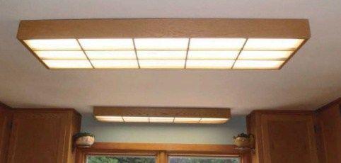 Fluorescent Kitchen Lighting 70 Kitchen Led Fluorescent ...