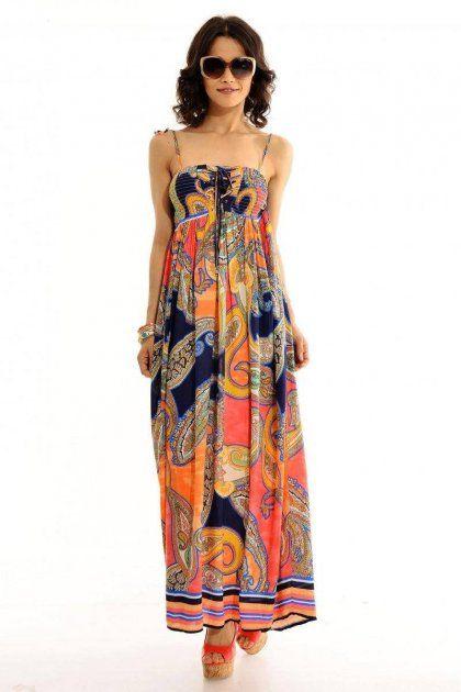 Kadın Lacivert Oranje Elbise 29,99 AZN özel fiyatı ile şimdi VipBrands'te!