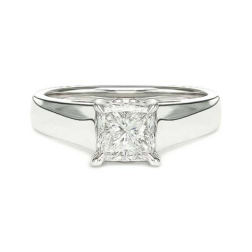 2.13 ct D SI1 PRINCESS CUT DIAMOND ENGAGEMENT RING 18K http://www.larrysfinejewelryinc.com