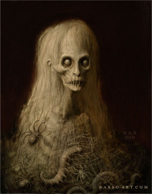 """The Pale Thing"" - The Art of William Basso (BASSO-ART.COM):"