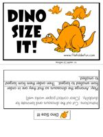 size sequencing file folder game