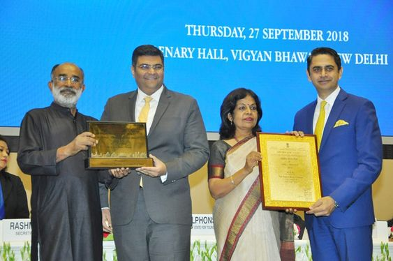 Trident, Chennai wins National Tourism Award for the Best 5-Star Category Hotel in India