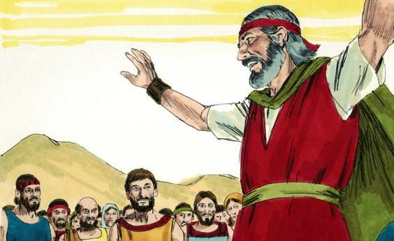 """""""God Is With Us"""" Bible Lesson, Exodus 17"""