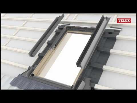 Velux New Generation Roof Window Standard Installation Into Tile Youtube Velux Velux Windows Velux Windows Installation