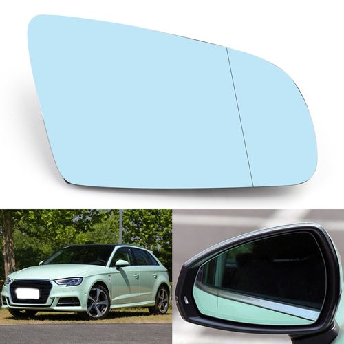 Right Passenger Side Rearview Mirror Glass For Audi A4 B6 B7 A6 C6 05 08 Glass Mirror Audi A4 Rear View Mirror
