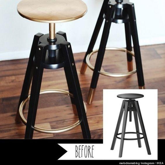 Ikea d tournement de meubles ikea and tabourets on pinterest - Meuble de bar ikea ...