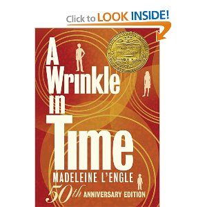 A Wrinkle in Time - my favorite book as a kid... ok possibly ever!
