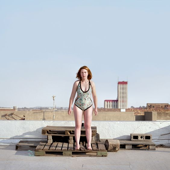 Carla Liesching  Lourika from the series The Swimmers