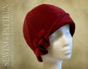 *** GET $3 OFF ADDITIONAL PATTERNS!!! WITH COUPON CODES BELOW***  SEWING PATTERN  Clementine  This romantic cloche is now an exciting sewing