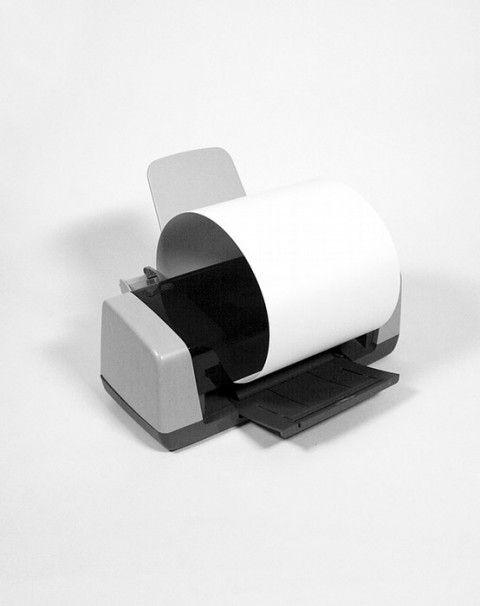 Printing at Home by Xavier Antin